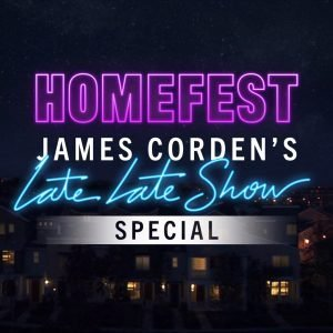 Homefest will be one of James Corden's first ever live stream concerts