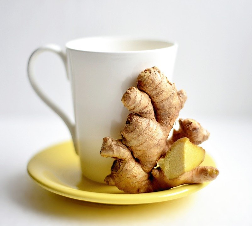 ginger helps to boost immune systems and keep you fit