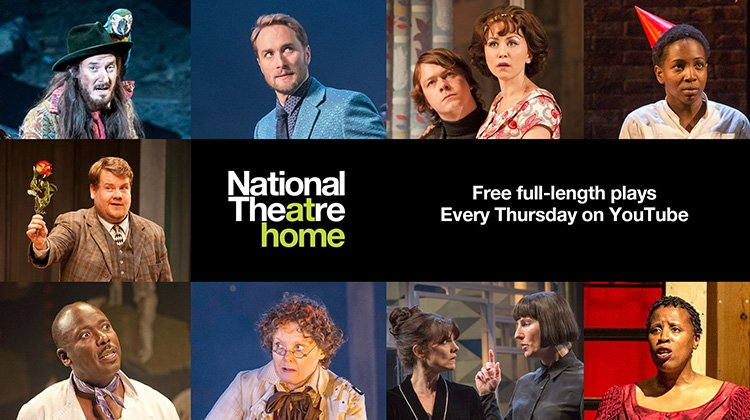 National theatre will be live streaming shows and concerts for free