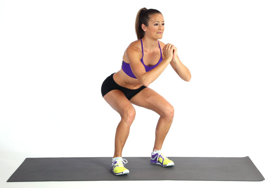 Squats will help you stay healthy and mobile