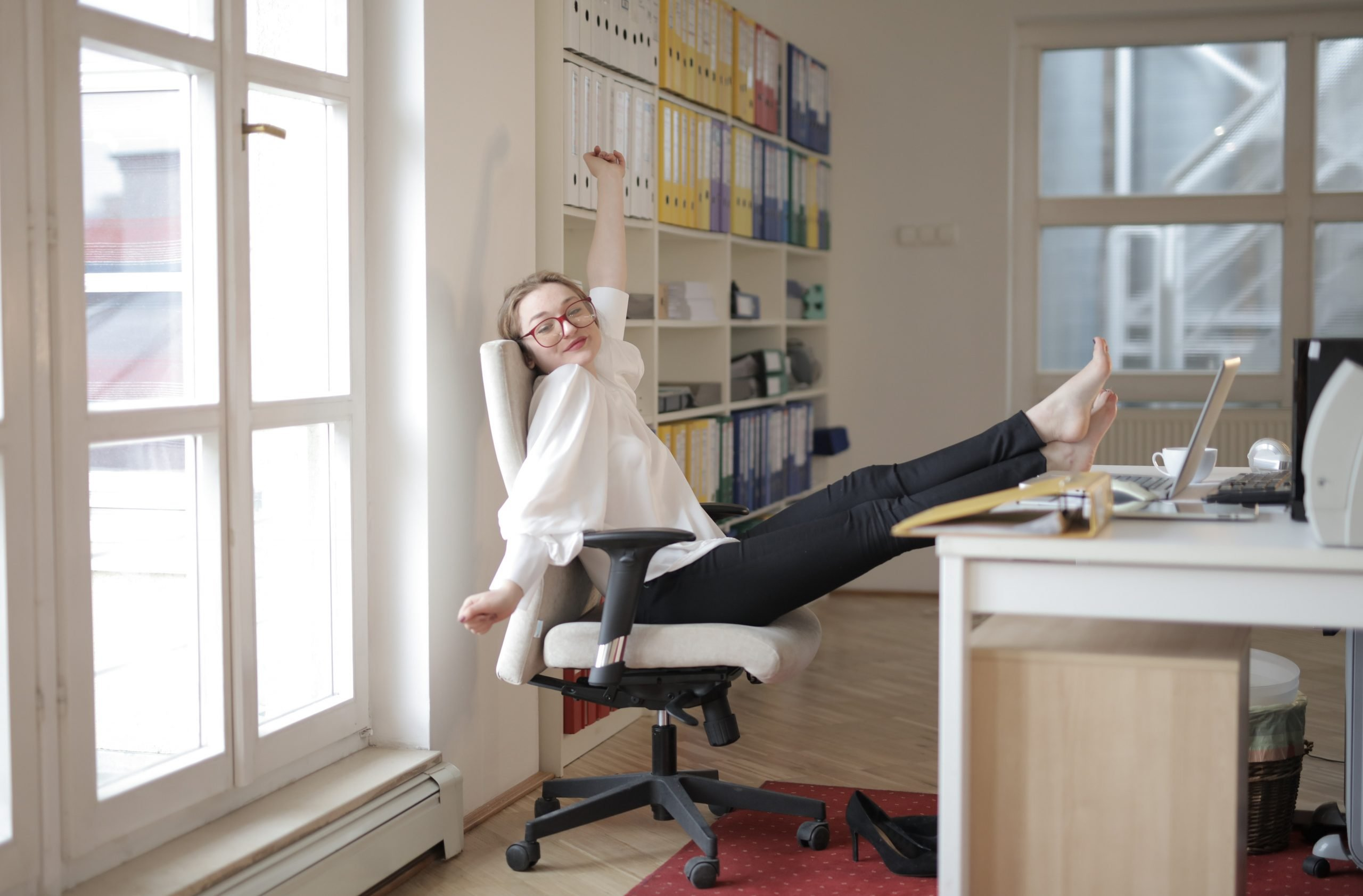 a comfy chair is a remote working must-have!
